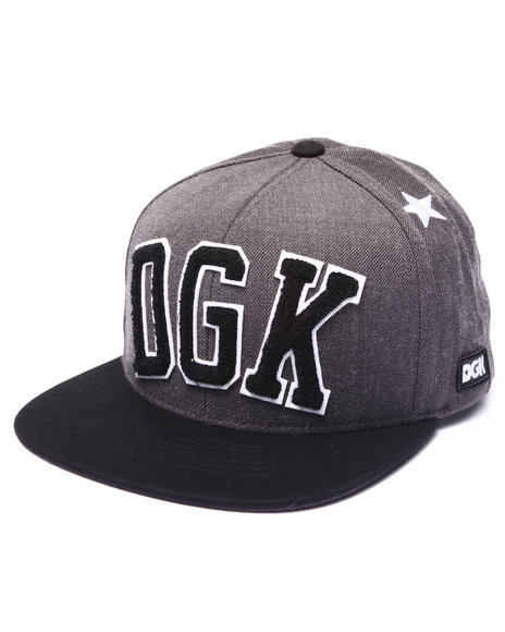 Dgk Men Worldwide Snapback Cap Black