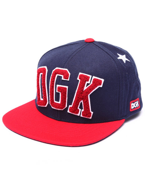 Dgk Men Worldwide Snapback Cap Navy