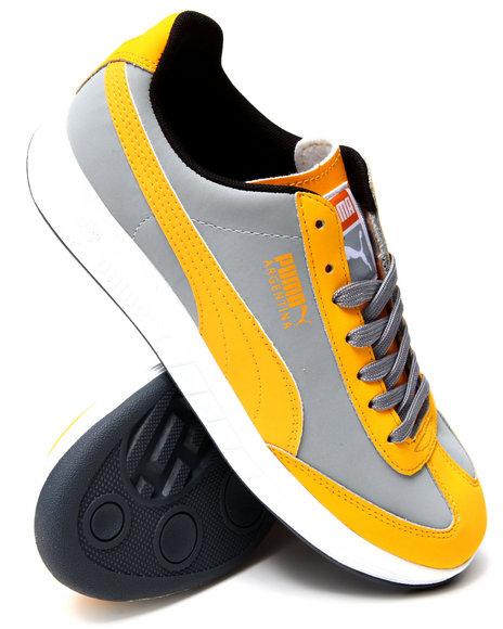 Puma - Men Yellow Argentina Nbk Sneakers