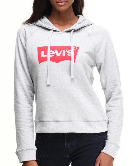 Levi's - Levi's Printed Batwig Crop Hoodie