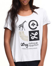 LRG - Golden Icon Scoop Neck Tee