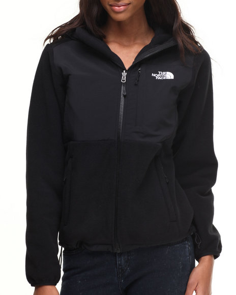 The North Face - Women Black Denali Hoodie