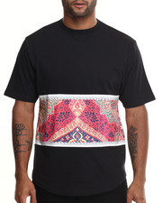 Men - Ban Religion Tee w/ Curved Hem