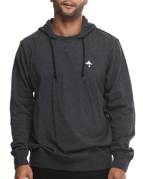 Lrg - Men Black Research Collection Pullover Hoodie I I