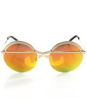 Accessories - Atsu Gold Mirror Shades