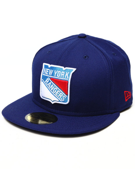 New Era - Men Blue New York Rangers Nhl Basic 5950 Fitte Hat