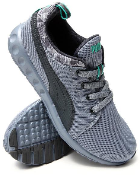 Puma - Men Grey,Grey Carson Runner Camo Sneakers
