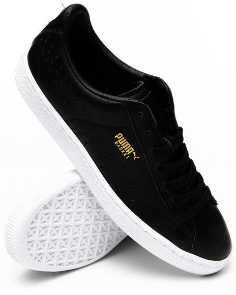 Puma - Men Black Basket Classic Citi Series Sneakers