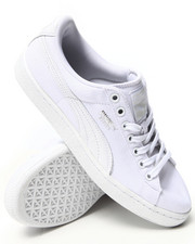 Puma - Basket Classic Canvas Sneakers