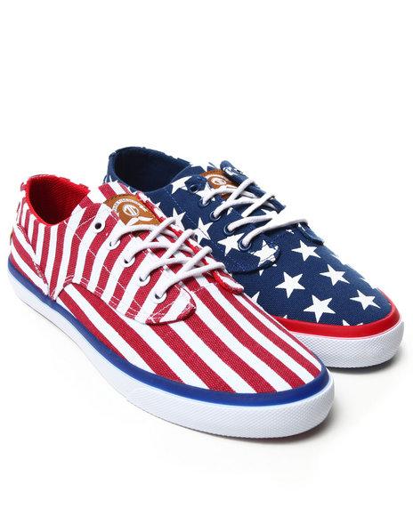 Radii Footwear - Men Blue,Red,White The Axel Sneakers