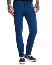 Basic Essentials - Mens Skinny Stretch Denim Jeans