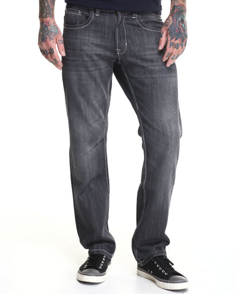 Buyers Picks - Men Grey Rage Denim Jeans