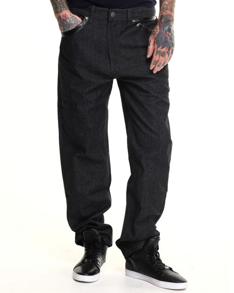 Enyce - Men Black Bronx Denim Jeans