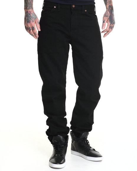 Dickies - Men Black Dickies 6 Pocket Denim Jeans