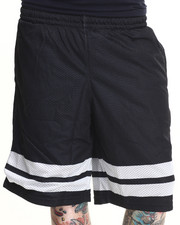 Shorts - Stripe Block Mesh Shorts