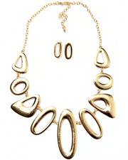 Jewelry - Abstract Earring/Necklace Set