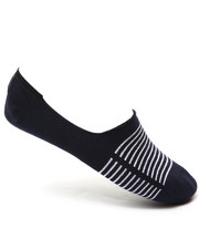 Socks - 168 Basic Stripe No Show 2-Pack Socks