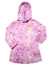 Sizes 7-16 - Big Kids - MARBELIZED HOODY (7-16)