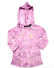Tops - MARBELIZED HOODY (4-6x)