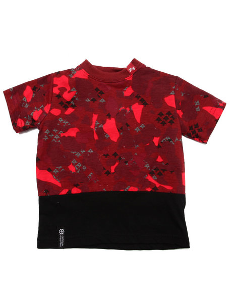 Lrg - Boys Maroon Axman Tee (Infant)