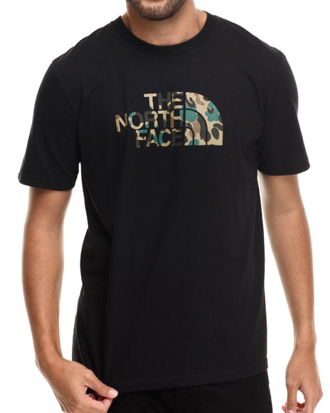 The North Face - Men Black Duckmo Camo Tee