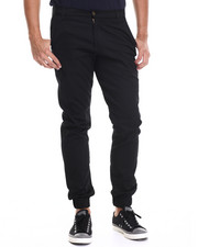 Jeans & Pants - Chino/ Jogger Straight fit pants (elastic band detail)