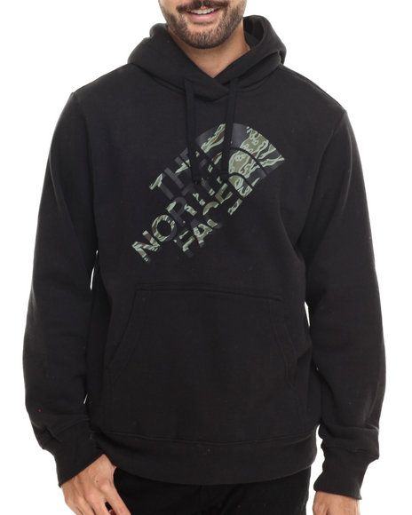 The North Face - Men Black,Camo Tiger Camo Pullover Hoodie
