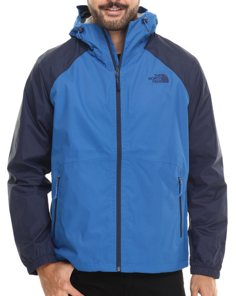 The North Face - Men Blue,Navy Allabout Jacket