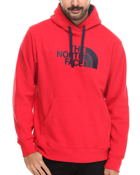 The North Face - Men Red Half Dome Hoodie