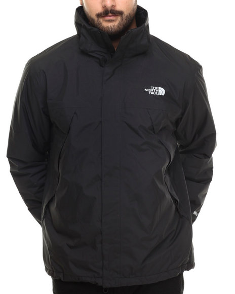 The North Face - Men Black Mountain-Light Insulated Jacket W/ Gore Tex