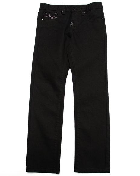 Lrg - Boys Black L-47 Jeans (8-20)