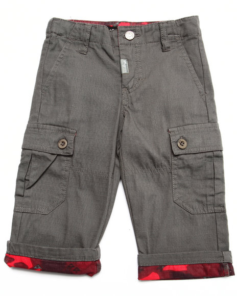 Lrg - Boys Grey Cargo Pants (Infant)