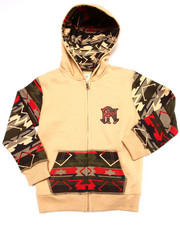 Sizes 4-7x - Kids - AZTEC FULL ZIP HOODY (4-7)