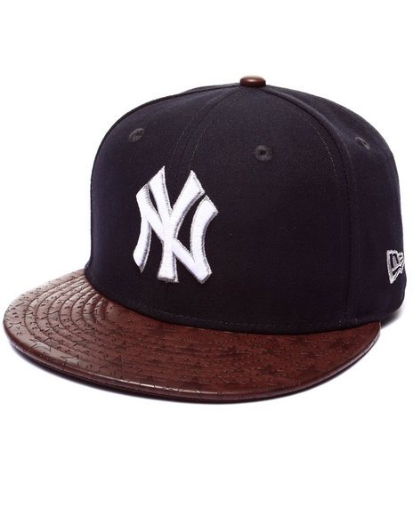 New Era - Men Navy New York Yankees Star Vize 5950 Fitted Hat