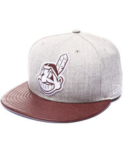 Men - Cleveland Indians Team Embosser 950 Snapback Hat