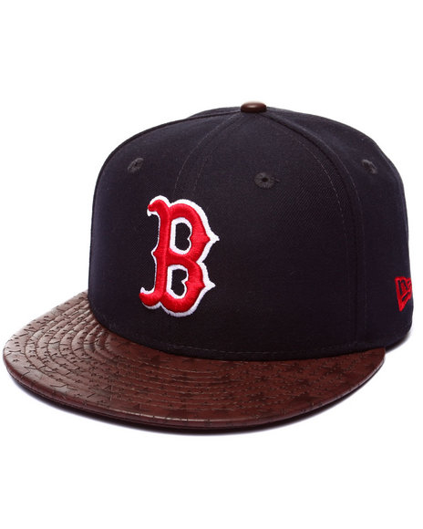 New Era - Men Navy Boston Red Sox Star Vize 5950 Fitted Hat