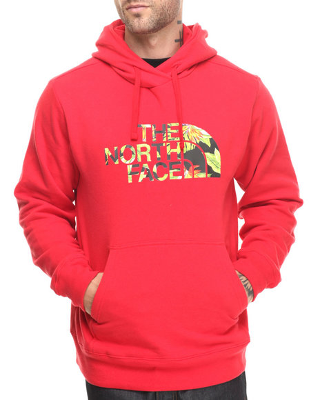 The North Face - Men Red Mahalo Pullover Hoodie