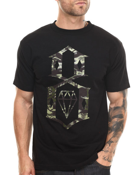 Rebel8 Black T-Shirts