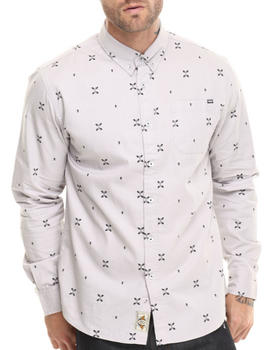 REBEL8 - Fingers Crossed Junction Button Down Shirt