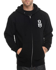 Men - Rebel8 Logo Pullover Hoody