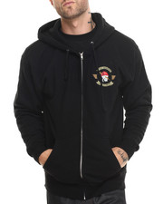 Men - Attack Squadron Executioners Full Zip Hoody