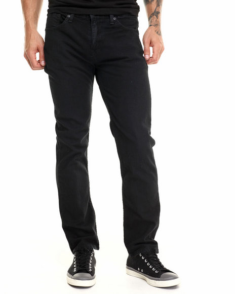 Levi's - Men Black 511 Slim Fit Black Stretch Jeans