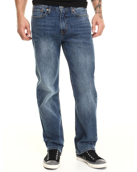 Levi's - Men Medium Wash 514 Slim Straight Fit Black Stone Jeans