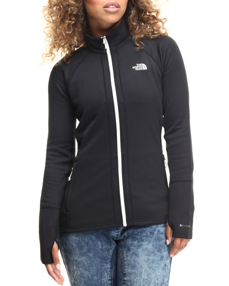The North Face - Women Black Concavo Full Zip Jacket