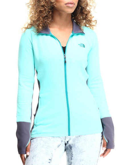 The North Face - Women Blue,Green,Grey Concavo Full Zip Jacket - $90.00