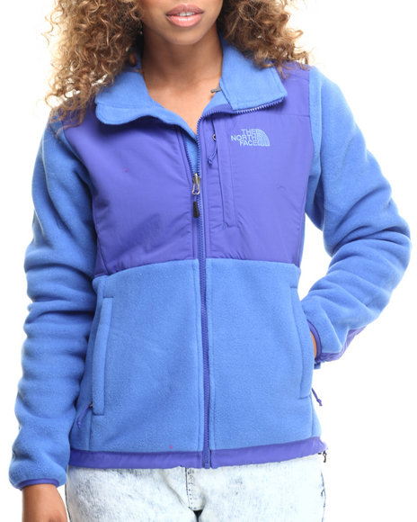 The North Face - Women Blue Denali Jacket