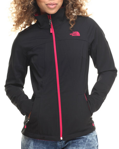 The North Face - Women Black,Dark Pink Orello Jacket