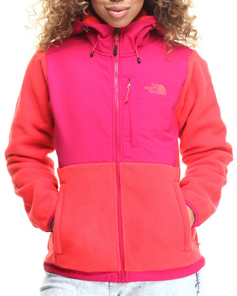 Ur-ID 185189 The North Face - Women Dark Pink,Orange Denali Hoodie by The North Face
