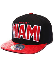 Buyers Picks - Miami Hometown Croc Embossed Visor Snapback Hat