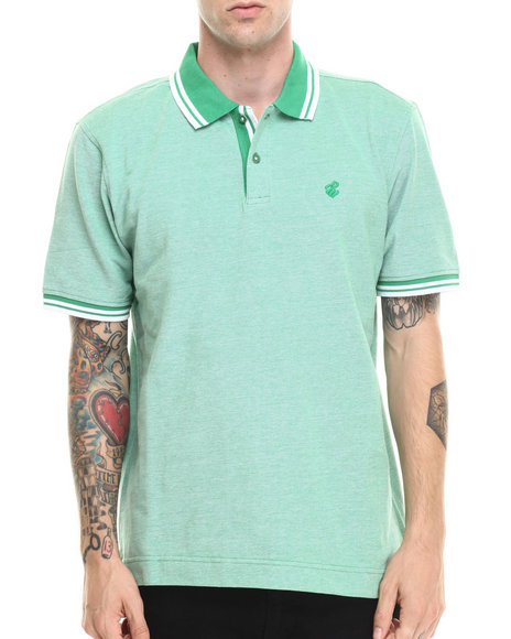 Rocawear - Men Green Birdseye Polo